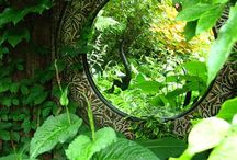 Mirrors / Create a magical window in your garden