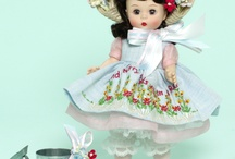 Dolls: Madame Alexander. / I love dolls!  I have Madame Alexanders and Ginny.  There is a separate Board for Ginny and Dolls. / by Renna Holland