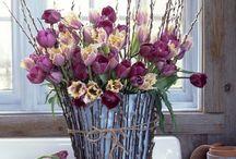 Spring floral designs