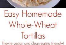 Vegan Mexican Tortillas
