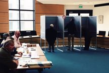 Verkiezingen 2015 / Foto's van de verkiezingen voor Provinciale Staten en het Waterschap op woensdag 18 maart 2015