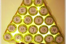 DIY: Jouluaskartelua / Tee se itse joulukalenteri luukkukalenteri skyr-purkit skyr-joulukalenteri skyr advent calendar skyr adventskalender