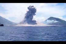 Amazing volcano footage: Eruption, shockwave caught on camera in Papua New Guinea / Philip McNamara was on a boat off the coast of Papua New Guinea filming Mount Tavurvu when the volcano exploded, sending up a plume of ash and smoke. The subsequent shockwave parted the clouds and proceeded to rock the boat. | www.godsfolder.com #GodsFolder