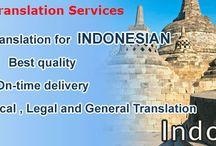 Translation Languages / Translation India sources are in different parts of the world and help to provide languages translation services in 200 different languages. The different languages include Indian, Chinese, Portuguese, German, Spanish, Korean, Indonesian and many others.