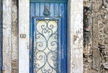Wrought iron doorways