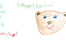 2By2 Rebuild the Zoo camp artwork / On August 6, the Calgary Zoo's biggest fans lent us their artistic talents to create an advertising campaign to help us rebuild the zoo. Here's an album of all the amazing artwork created that day.  You can help Rebuild the Zoo too!  www.calgaryzoo.com//rebuild-2by2