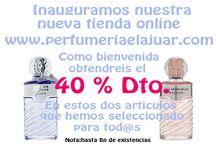 Inauguración tienda online / Inauguramos nuestra mueva tienda online: www.perfumeriaelajuar.com Como bienvenida obtendréis el 40% de descuento en estos dos artículos que hemos seleccionado para tod@as. Animaros y venid a conocernos. Nota: hata fin de existencias.    Inauguramos nuestra mueva tienda online: www.perfumeriaelajuar.com Como bienvenida obtendréis el 40% de descuento en estos dos artículos que hemos seleccionado para tod@as. Animaros y venid a conocernos. Nota: hata fin de existencias.