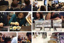 Veronero Caffè - Formazione / Veronero Caffè organizza e/o sponsorizza corsi di formazione per professionisti del settore a tutti i livelli di esperienza e anche per consumatori e appassionati di caffè.