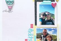 Scrap i Pebre - Layouts / I will show you here the layouts I create