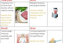Vocabulary: cooking