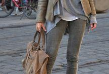 Fall fashion layering