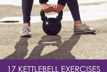 Kettle bell exercises / Kettlebell
