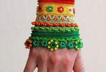 pulseras a crochet