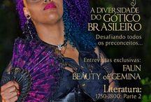 Gothic Station Magazine / primeira revista brasileira dedicada à subcultura gótica