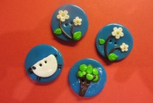 Fimo Buttons / I love fimo and i love buttons so I thought I would create my very own using this amazingly versatile material. Hope you love them too!