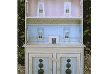 """1/4"""" Scale Miss Lydia Pickett Cottage Collection / Our 1/4"""" Lydia Pickett Furniture Collection is mostly shabby chic in design. One of our most popular collections."""