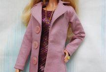 Barbie sewing