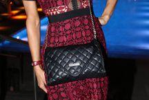 celebrity crochet dress