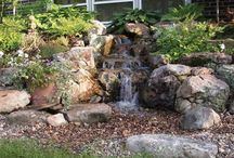 Outdoor Ideas--water features