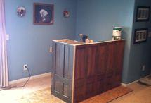 my basement bar / by Stephanie Curtin Serido
