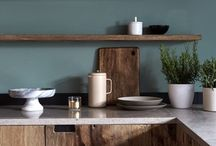 Покраска гарнитура и стен кухня