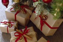 Brown Paper and Wrapings / Gifts and Holiday