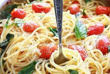 Pasta / Pasta recipes - salads and main dishes