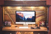 Piano desks