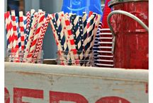 Vintage 4th of July / Festive vintage ideas for 4th of July decorating