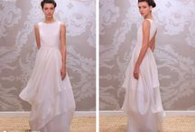 Bridal Gowns / Alternative brides planning outdoor weddings will love our light and Airy silk gowns (from $ 2500) featuring sophisticated cuts and signature draping with focus on comfort and movement, making them perfect for dancing. Perfect for beach, lake, rustic barn, vinyard, garden.   Proudly made in the USA.