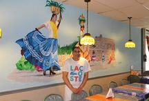 Art Murals / Student murals for businesses