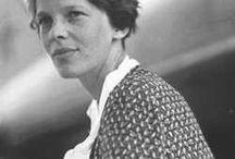 Amelia Earhart / TheUniqueCreatures.com