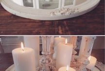Candle arrangements