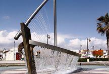 Boat fountain