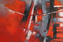 abstracts / by Judy Applegarth, Artist