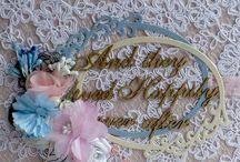 Свадебный альбом из коллекции Epiphany от Prima. Wedding album, wedding scrapbook