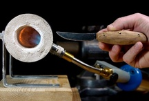 forges and hand made knives