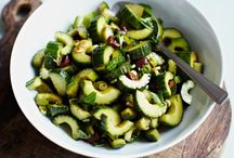 On the Side / Side dishes! You've got to have some good, healthy sides for everyday meals and dinner parties