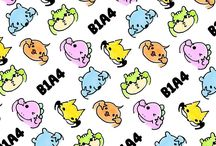 B1A4 / CNU, Sandeul, Jinyoung, Baro