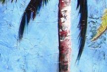Пальмы, острова