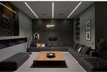 Dark living rooms
