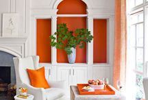 Orange Decor / That something orange for the home.