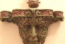 Зеленый человек / Старичок - лисовичок, помощник в лесу и хранитель лесов и зелени. Прекрасно!!!