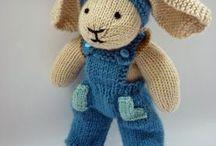 Bonecos tricot