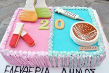 cakes fondant  торты мастика / мои торты украшенные сахарной пастой
