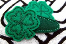 St. Patrick's Day - ArtFire / Don't forget to wear green! You're sure to find your ideal four leaf clover in this St. Patrick's Day theme board! From a variety of ArtFire Merchants.