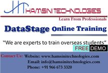 DataStage Online Training / Hamsini Technologies is one stop destination to provideall technologies Online & Classroom Trainings by 12+ years experienced faculty from Hyderabad, India. We provide DataStage, Informatica, OBIEE, Cognos, MSBI, Ab Initio and Teradata Online Trainings with Live Projects. Email: info@hamsinitechnologies.com Phone: +91 9666733320