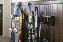Ski mud rooms / Ideas for La Parva