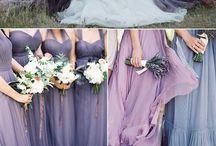 ♥ Mariage lavande - lilas ♥ / Du parme au violet intense, en passant par le bleu & du champêtre au chic : un mariage haut en couleurs !