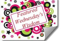 Wednesday's Wisdom / Wednesday's Wisdom Link Up.